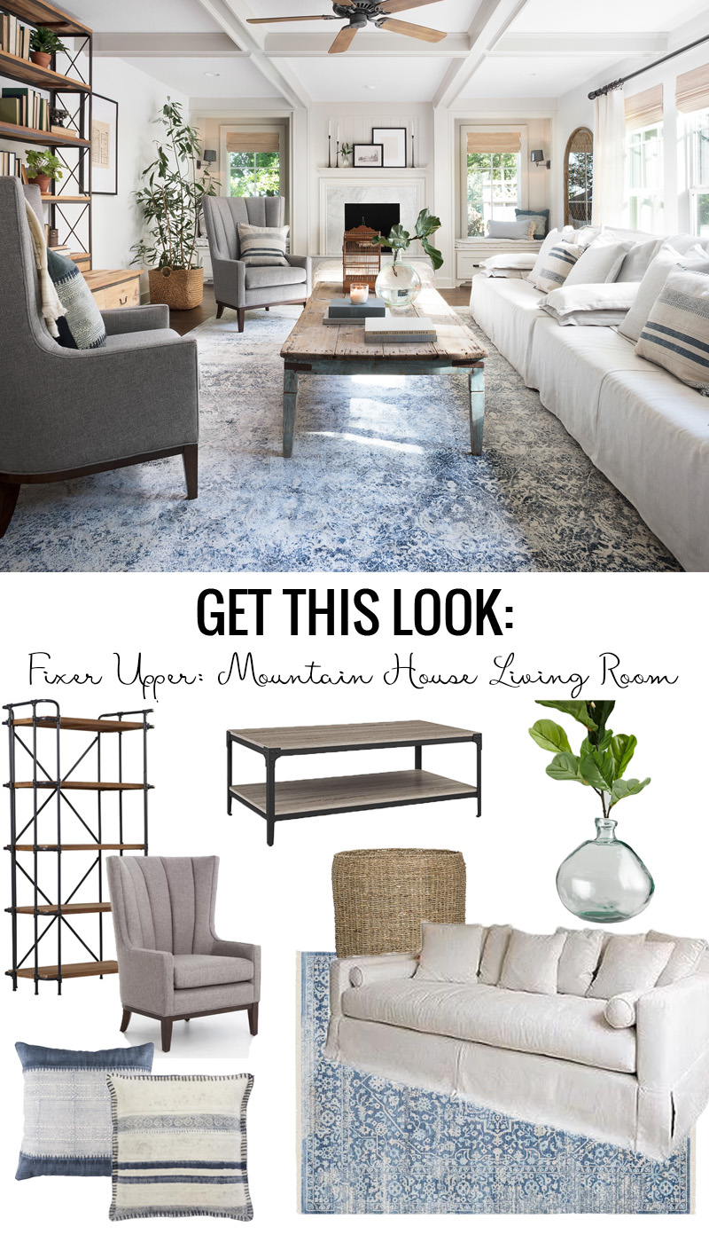 Attrayant Get This Look: Fixer Upper Mountain House Living Room