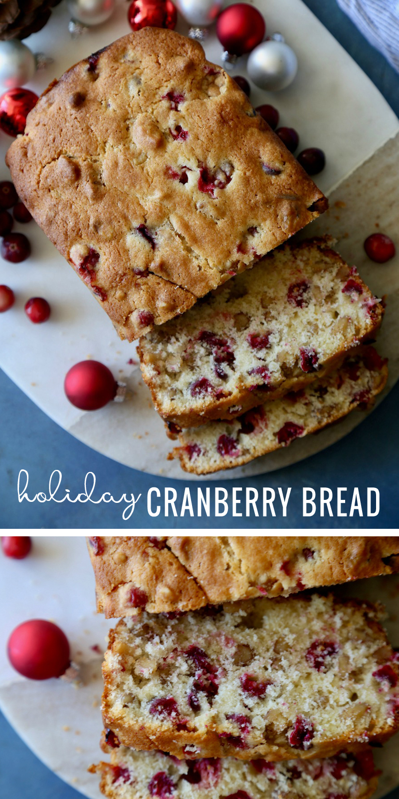 Remodelaholic Holiday Cranberry Bread