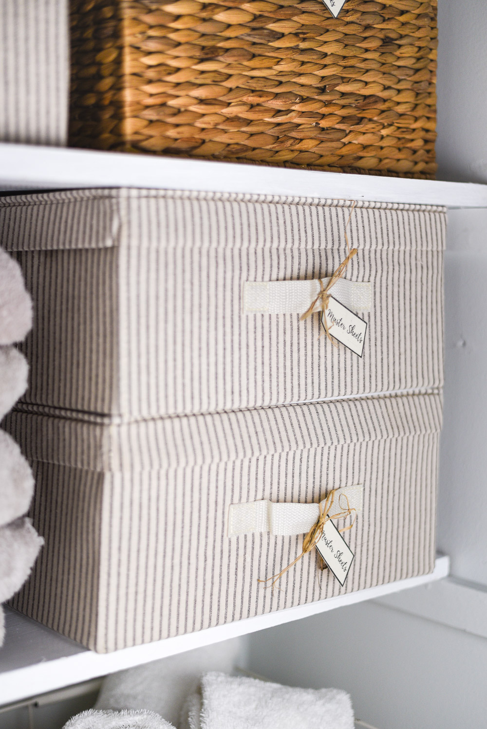 Linen Closet Makeover By The Weathered Fox 9