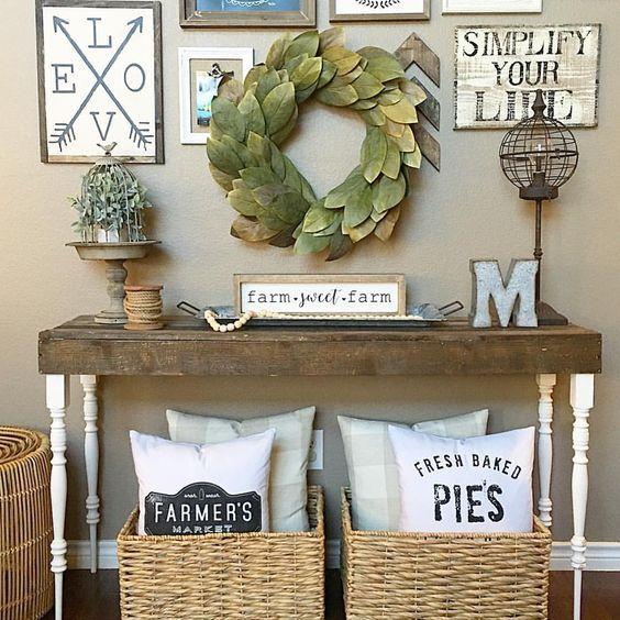 Farmhouse Family Room Mood Board by