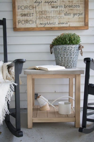 Concrete Table Top IKEA Hack 4735