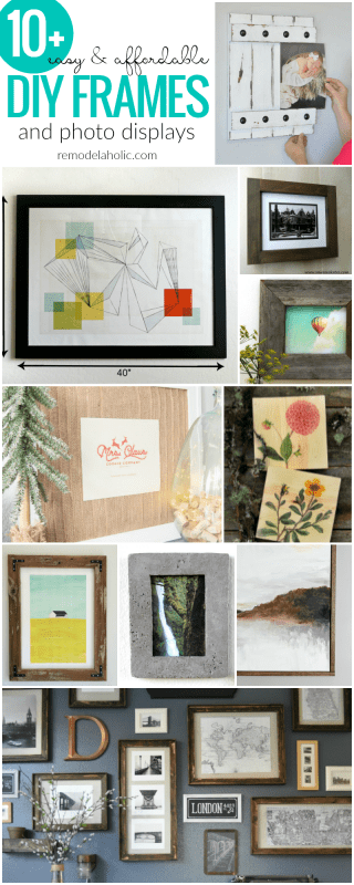 Easy And Affordable Diy Frames And Photo Displays For Pictures And Printable Art | These free printable gift ideas are the perfect last-minute gift -- no one will ever know it only took a couple minutes! Pair with a DIY frame for an inexpensive handmade gift for birthdays, Christmas, housewarming, teacher appreciation, or weddings.