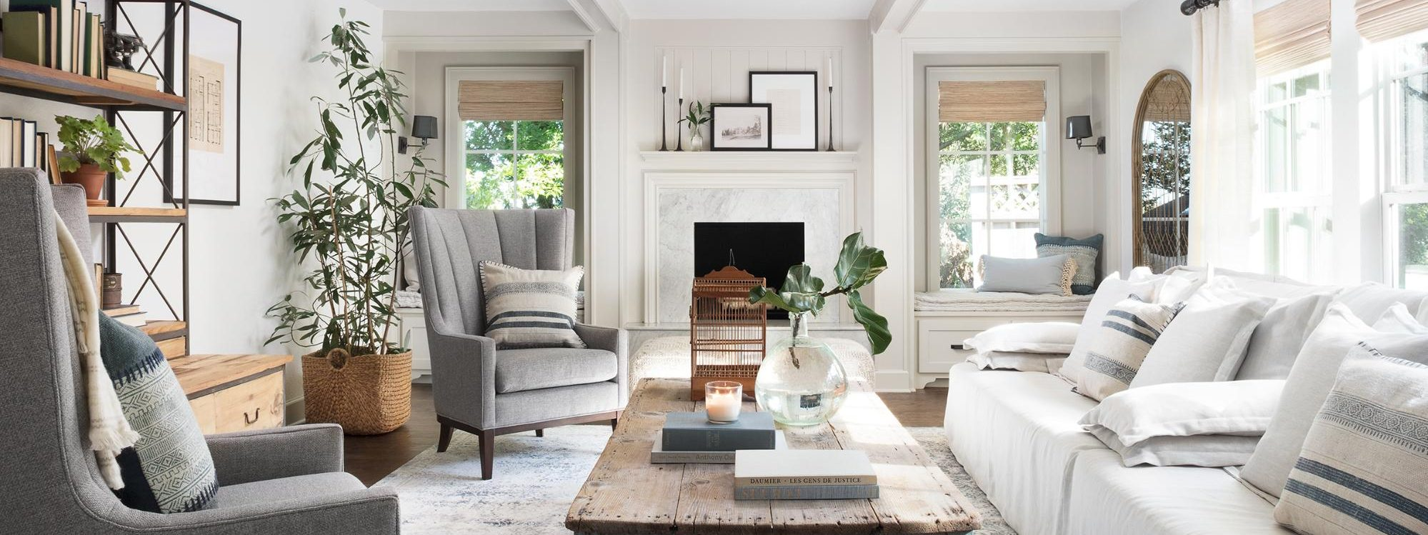 Get This Look Fixer Upper Mountain House Living Room