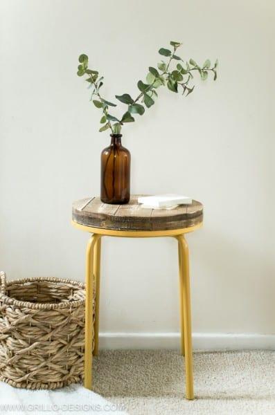 Industrial Side Table Tutorial Grillo Designs