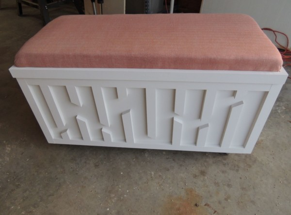 One Sheet Plywood Box With Geometric Design, Savage Home DIY