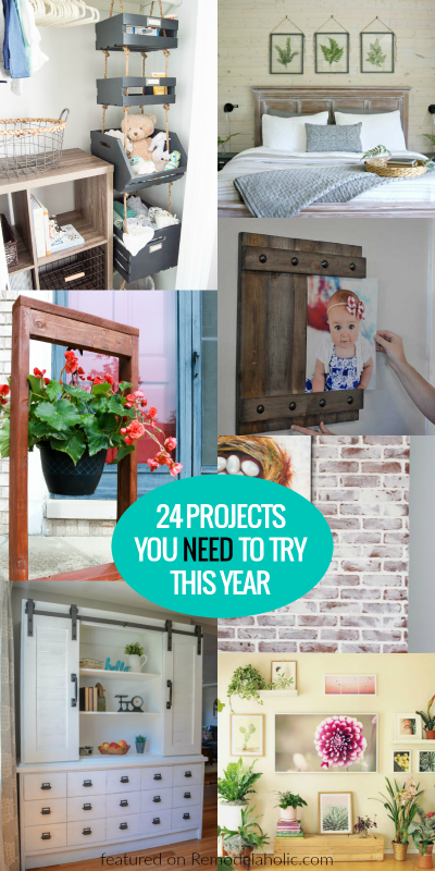 24 DIY Projects You Need To Try This Year