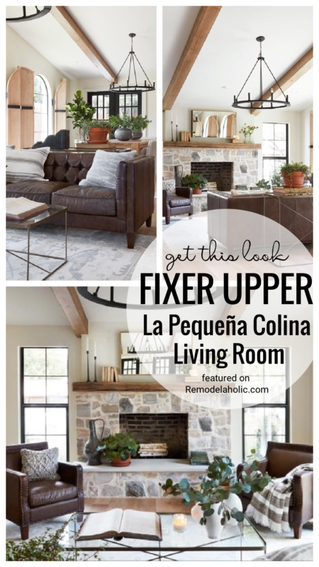 A Lovely Look With Lots Of Texture And Very Neutral Colors. Get This Look La Pequeña Colina Living Room Featured On Remodelaholic.com