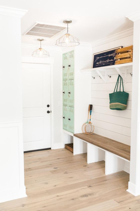Organized Entryway Inspiration & Tips