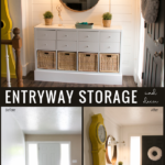 Entryway Storage And Decor From Remodelaholic
