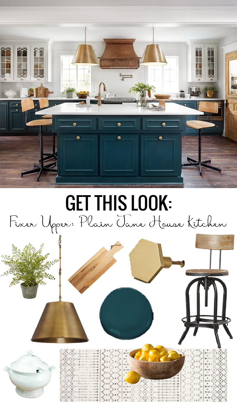Get The Look Of Fixer Upper Plain Jane House Kitchen Featured On Remodelaholic Com