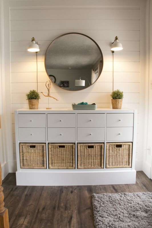 Ikea Entry Post @Remodelaholic 6