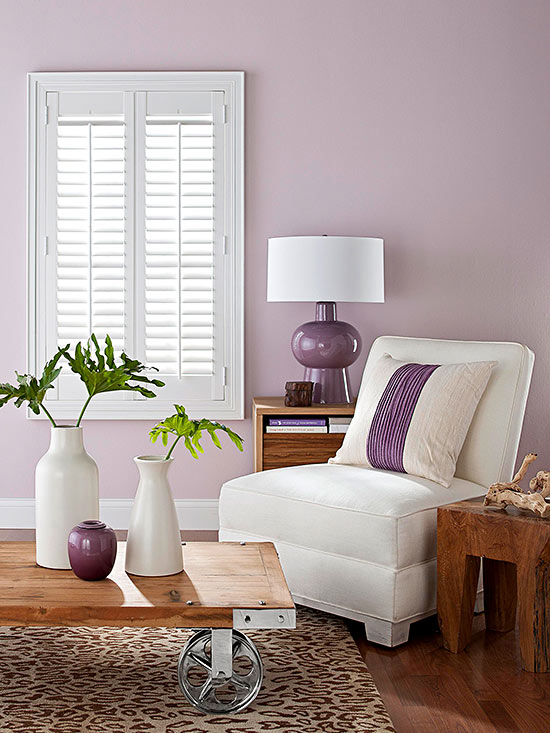 Violet Room Design: Decorating With The 2018 Pantone Color Of