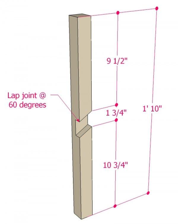Multi Use Side Table Building Plan Apieceofrainbowblog (3)