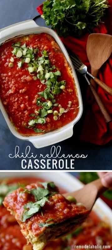 Remodelaholic Chili Rellenos Casserole