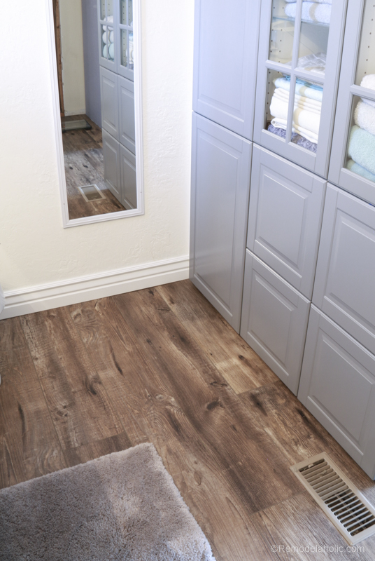 Shaw Floors Luxury Vinyl @Remodelaholic 23