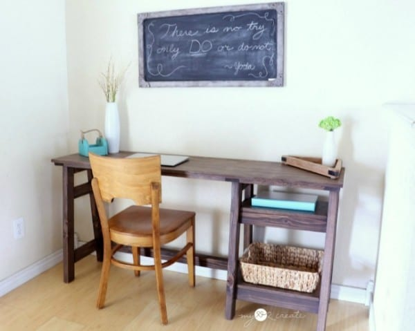 Best DIY Tutorials And Tips, Build An A Frame Desk Mylove2create