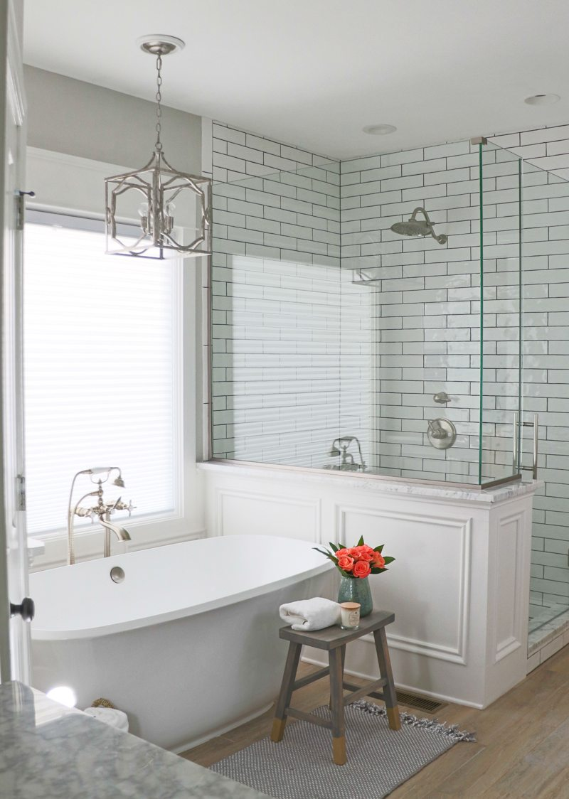 Remodelaholic 24 diy projects you need to try this year for Bath remodel 2018