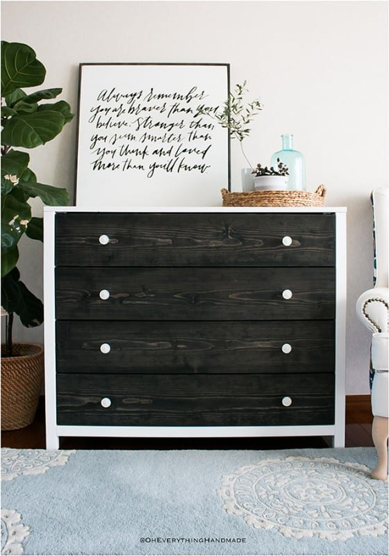 Best DIY Tutorials And Tips, Modern Farmhouse Dresser Oh Everything Handmade