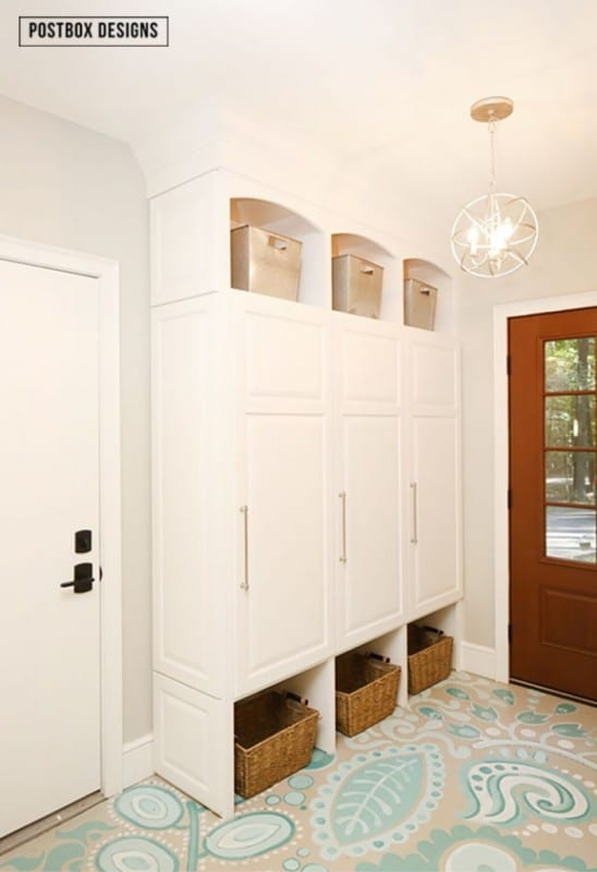 Best DIY Tutorials And Tips, Mudroom Lockers Postbox Designs