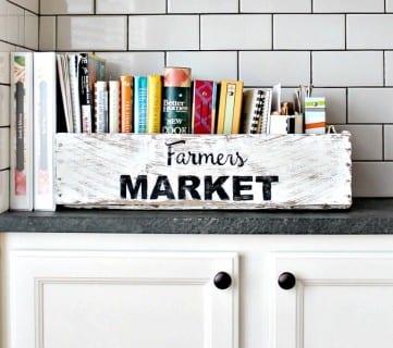 Friday Favorites: Book Shelf Garage Storage and Mail Organizer