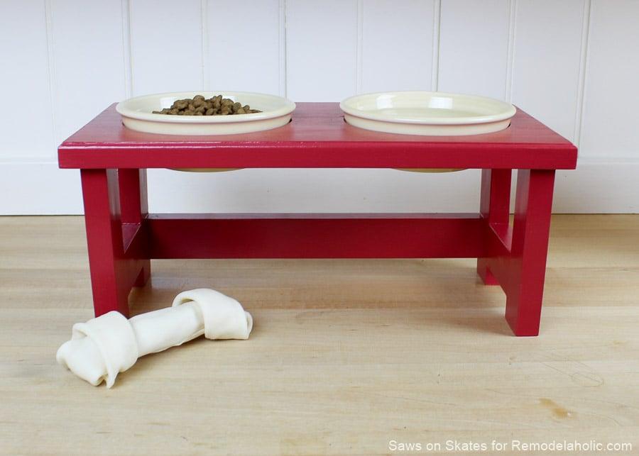 Diy Dog Food Bowl Stand Sos 12