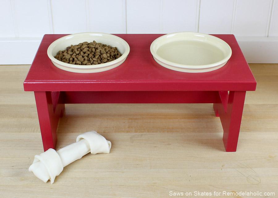 Diy Dog Food Bowl Stand Sos 8