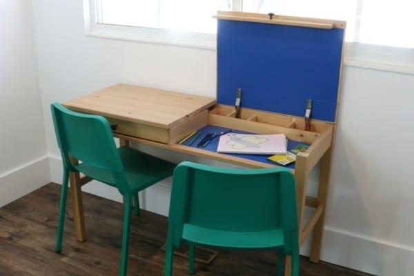 Easy IKEA Hemnes Desk Hack to Make a 2-Person Double Desk