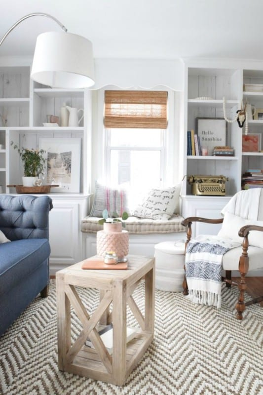 Diy Planked X Farmhouse Side Table Free Building Plan