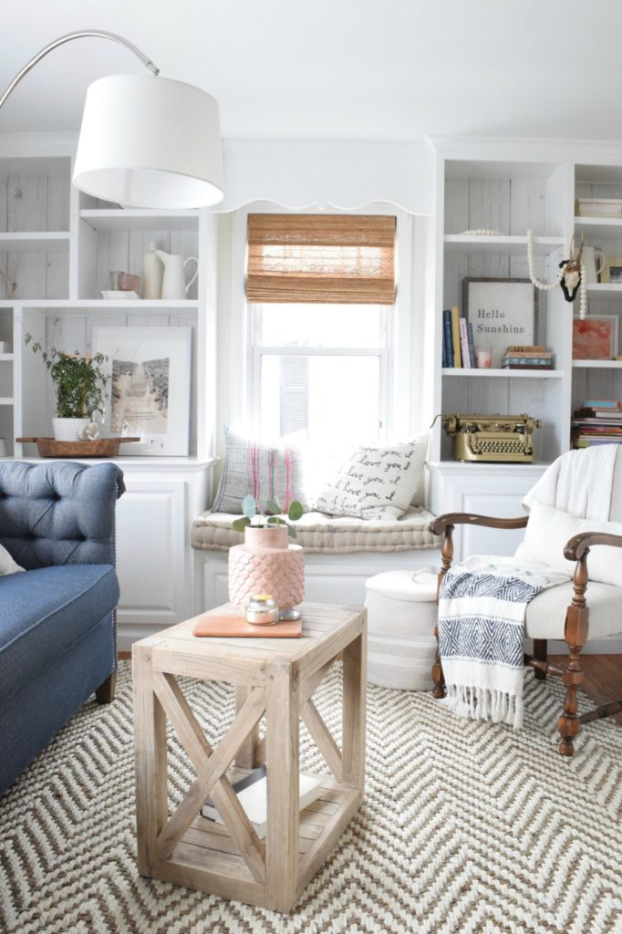 Free Building Plan Planked X Farmhouse Side Table Beautiful Living Room Photo
