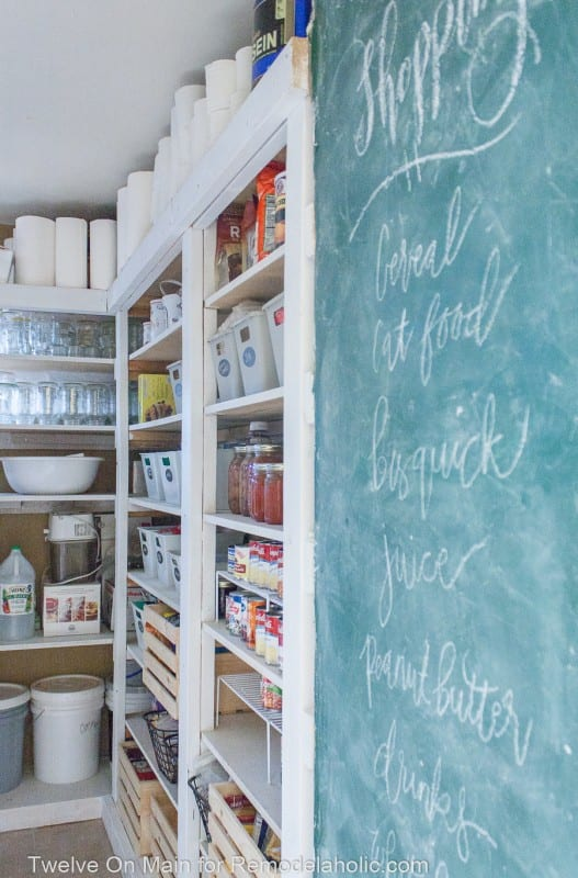 How To Organize Large Pantry On Budget (6 Of 9)