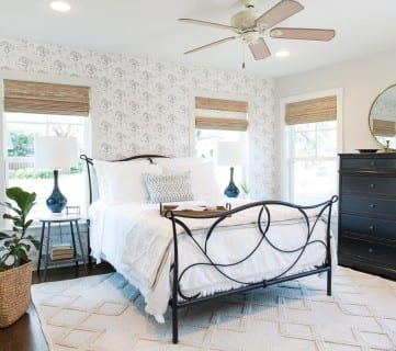 Get This Look: Fixer Upper Baker House Master Bedroom