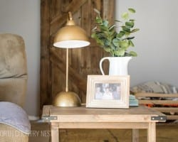 DIY Antique Bronze Lamp 14