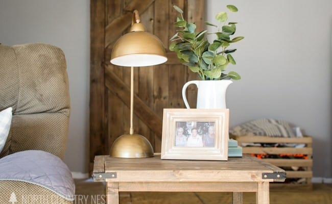 Friday Favorites: Letter Board Tips and Navy Sofa