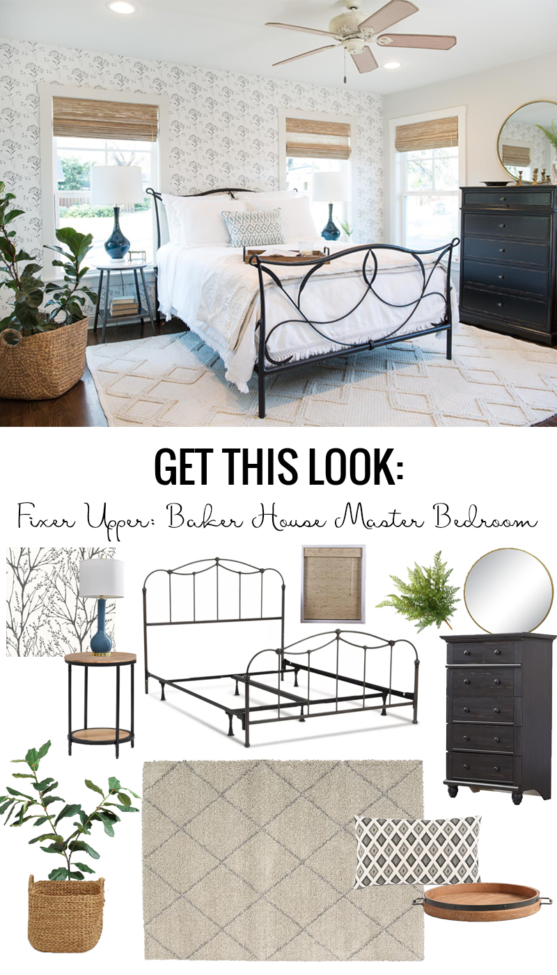 Get This Look Fixer Upper Baker House Master Bedroom Remodelaholic Bloglovin