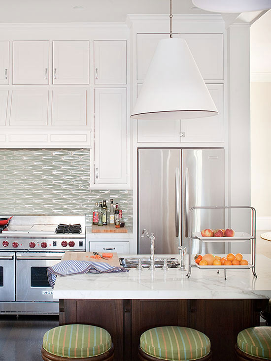 Remodelaholic sage green 6 ways to decorate your home with pinterest 39 s 2018 new neutral Kitchen backsplash ideas bhg