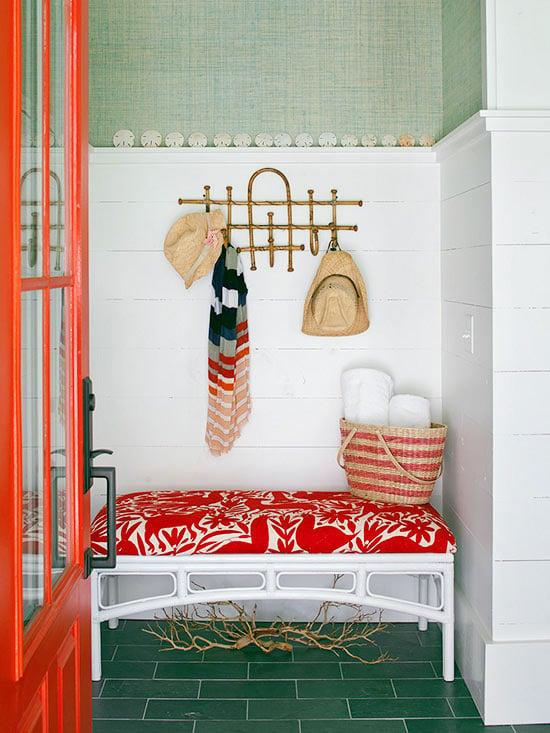 Sage Green Wallpaper BHG
