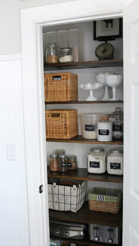 Farmhouse Pantry Makeover, Noting Grace