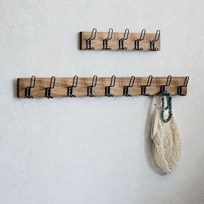 Industrial Hook Rack O