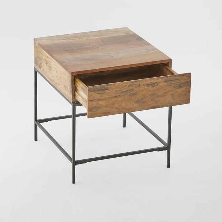 Industrial Storage Side Table O
