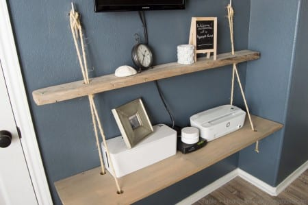 Nautical Rope Shelves Tableandhearth 22