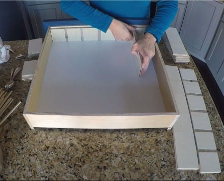 Remodelaholic Removable Utensil Drawer Organizer Step 7