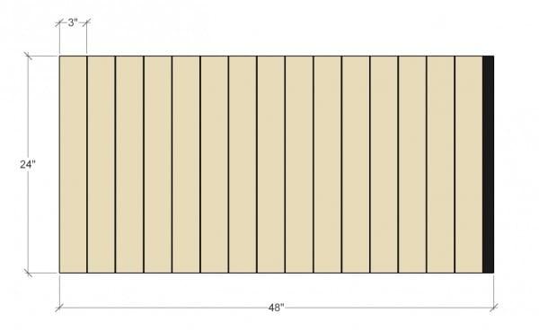 Remodelaholic Removable Utensil Drawer Organizers Cut Diagram 1 (1)