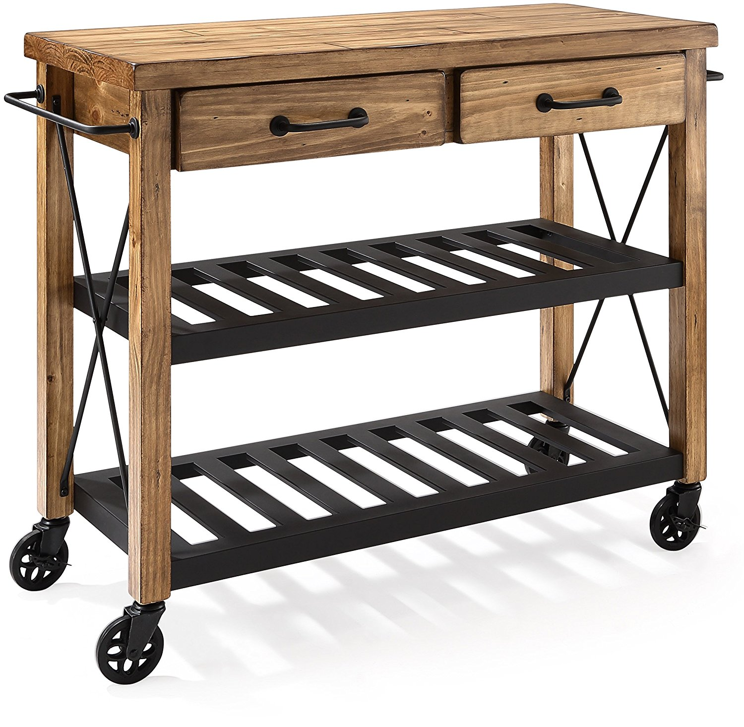 Crosley Roots Rack Industrial Kitchen Cart: Favorite Finds