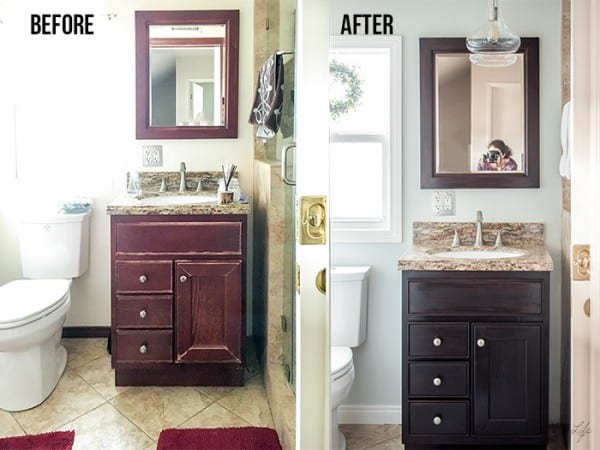 Weekend Refresh For A Small Bathroom, Anika's Diy Life