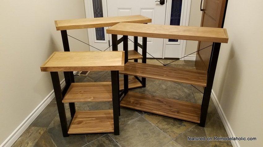 Remodelaholic Easy Modern Rustic Ikea Hack Bookshelf