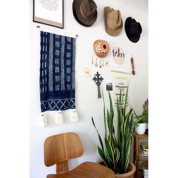Indigo Mudcloth Decorating Inspiration