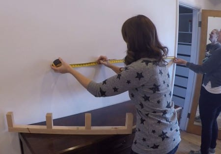 Remodelaholic Floating Shelf Measure