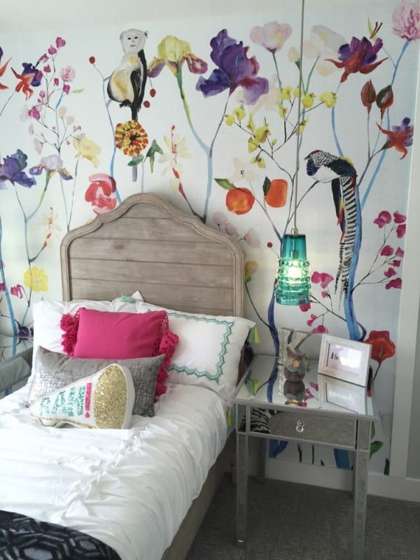 Remodelaholic Get This Look Colorful Eclectic Girl Bedroom 2