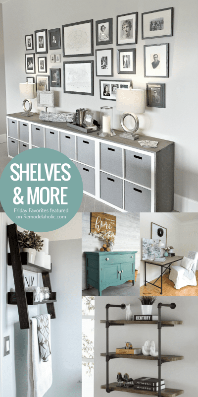 Diy Wall Shelves And Life Hacks, Featured On @Remodelaholic