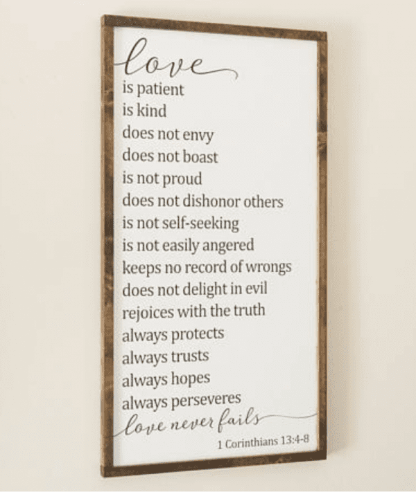 Love Poster, Etsy